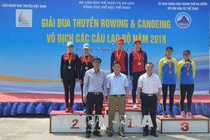 Khoảng 200 VĐV tham dự Giải Rowing và Canoeing vô địch các Câu lạc bộ toàn quốc