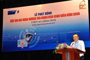 VNPT tổ chức cuộc thi an toàn thông tin dành cho sinh viên toàn quốc