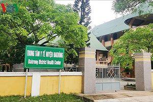 Làm rõ sai phạm vụ Trung tâm Y tế huyện dùng sinh phẩm quá hạn