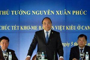 Thủ tướng Nguyễn Xuân Phúc gặp gỡ bà con Việt kiều tại Campuchia