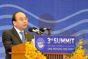 Thủ tướng: Sử dụng công bằng, hợp lý tài nguyên sông Mekong
