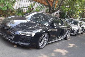 Đại gia Đặng Lê Nguyên Vũ 'tậu' cặp đôi siêu xe Audi R8 mới
