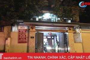 Hơn 100 CBCS công an đột kích hàng chục tụ điểm cờ bạc ở TP Hà Tĩnh