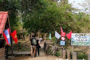 Ấn tượng vẻ đẹp hùng vĩ của thác Somphamit ở tỉnh Champasak