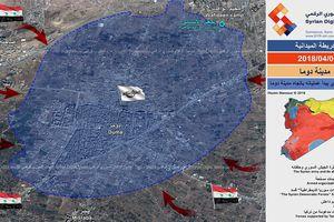 Phe thánh chiến ở Đông Ghouta lật lọng tấn công Damascus, liên quân Nga-Syria giáng đòn thịnh nộ