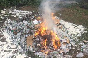 Thực hư việc thiêu hủy hơn 11.000 hộp sữa Vinamilk từ thiện sắp hết hạn ở Sa Pa