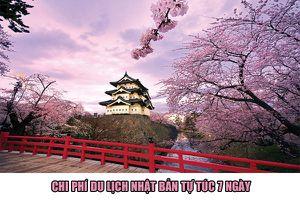 Du lịch Nhật Bản tự túc hết bao nhiêu tiền?