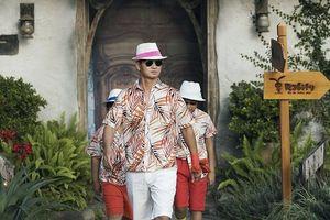 Nghệ sĩ Xuân Bắc cùng hai con trai 'chất lừ' trên sàn diễn thời trang