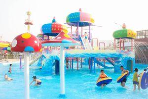 Nghỉ lễ 30/4 chẳng phải đi đâu xa, ngay Thái Bình cũng có công viên nước với đủ trò chơi CỰC ĐÃ, hút khách chẳng kém cạnh khu vui chơi giải trí hàng đầu