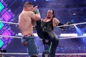 WWE Wrestle Mania: The Undertaker tái xuất hạ chóng vánh John Cena