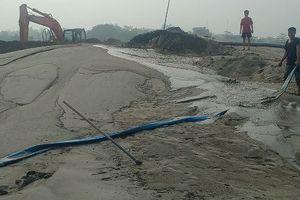 Công ty TNHH Tiến Cường ngang nhiên mở bến để khai thác cát ở Phú Thọ?