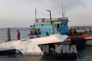 Đã xác định được nguyên nhân tàu Greenlines DP C3 gặp sự cố trên biển Cần Giờ
