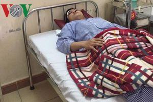 Bác sĩ bị người nhà bệnh nhi hành hung ngay tại Bệnh viện ĐK Hà Tĩnh
