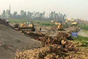 Cưỡng chế thu hồi đất tại dự án đường trục phía Nam tỉnh Hà Tây (cũ)