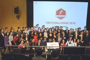 Hơn 200 ý tưởng kinh doanh dự thi VietChallenge 2018