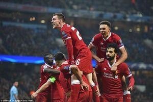 Video bàn thắng trận Man City 1-2 Liverpool