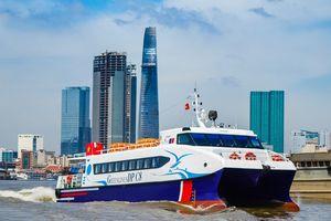 Ngày 10-2, khai trương tàu cao tốc du lịch TP HCM - Cần Giờ - Vũng Tàu