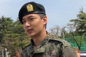 Lee Min Ho tăng cân đáng kể sau một năm nhập ngũ