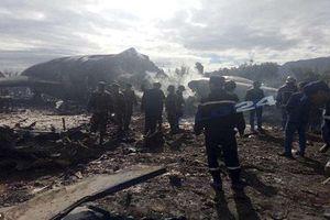 Thảm khốc hiện trường rơi máy bay khiến 257 binh sĩ Algeria thiệt mạng
