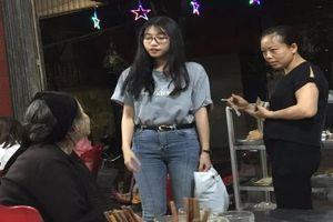 Giúp đỡ cụ già neo đơn, nữ sinh Nghệ An bất ngờ nổi tiếng