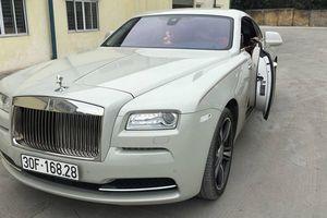 Xe sang Rolls-Royce Wraith 19 tỷ của đại gia tại Hà Nội
