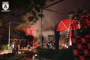 Cháy câu lạc bộ bia ở Hải Phòng