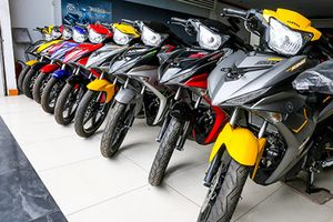 'Đập thùng' xe Yamaha Exciter nhập khẩu 50 triệu tại Sài Gòn
