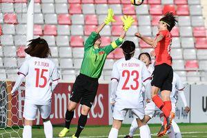 Tuyển nữ Hàn Quốc 'nhấn chìm' giấc mơ World Cup của Việt Nam