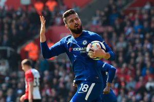 Giroud sắm vai siêu dự bị, Chelsea ngược dòng trước Southampton