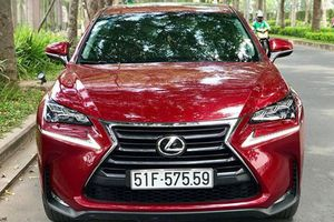 Xe sang Lexus NX200t 'dùng chán' bán 2,32 tỷ ở Sài Gòn