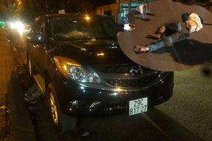 Bắt khẩn cấp tài xế ô tô kéo lê người trên phố Hà Nội