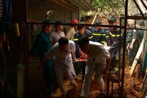 Sập đất làm ba người chết ở thành phố Lào Cai