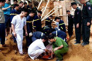 Xác định danh tính nạn nhân trong vụ sát lở đất ở Lào Cai