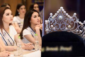 Cận cảnh vương miện gần 2 tỷ đồng của Hoa hậu Biển Việt Nam Toàn cầu 2018