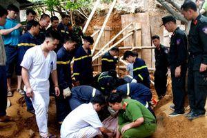 Vụ sạt lở taluy ở Lào Cai khiến 3 người tử vong: Làm kè chống sạt lở thì bị tai nạn