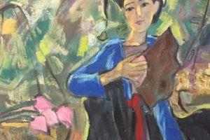 Tranh bao bố - những tác phẩm độc nhất vô nhị của họa sĩ Phạm Lực