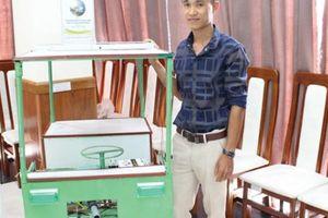 Từ thầy giáo Tin trẻ đến sáng chế 'chú nông robot' nông dân
