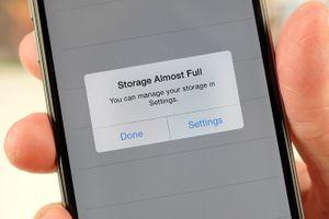 Cách giải phóng không gian lưu trữ trên iPhone