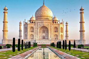 Cẩm thạch trắng tạo nên kiệt tác lăng mộ Taj Mahal