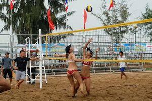 Cần Thơ tiếp tục tổ chức giải Bóng chuyền bãi biển nữ châu Á 2018