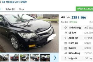 Những chiếc ô tô Honda cũ này đang rao bán tầm giá 200 triệu tại Việt Nam