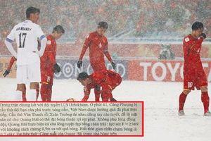 Lấy cảm hứng từ đội tuyển U23 Việt Nam, thầy cô lập đề thi Văn Toán và Vật lý