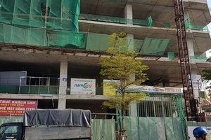 Đà Nẵng: Một công nhân rơi từ tầng 12 xuống đất tại công trình khách sạn