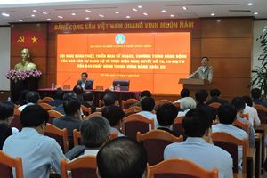 Hội nghị quán triệt, triển khai thực hiện Nghị quyết 18,19-NQ/TW của BCH TƯ khóa XII