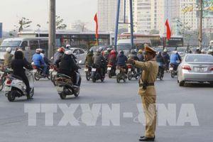 Ùn tắc giao thông tại Hà Nội đã bớt căng thẳng