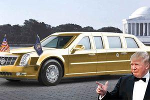 Tổng thống Trump sắp có siêu limousine Cadillac chống đạn mới