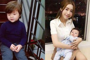 Con trai lớn phổng phao của hot girl Elly Trần