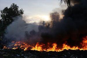 Hiện trường vụ cháy dữ dội tại Nha Trang khiến 500 học sinh phải nghỉ học