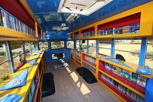 Lan tỏa tình yêu sách bằng xe buýt tại Sài Gòn