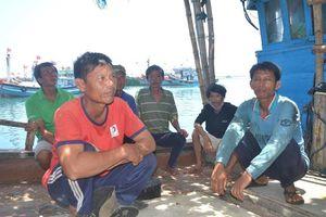 Ngư dân trình báo bị cướp ở vùng biển Hoàng Sa